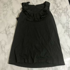 J Crew Ruffles and Roses Tissue Tank Top sz Small